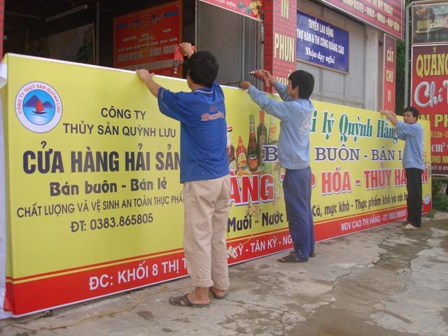 Làm bảng hiệu quảng cáo Thuận An 11