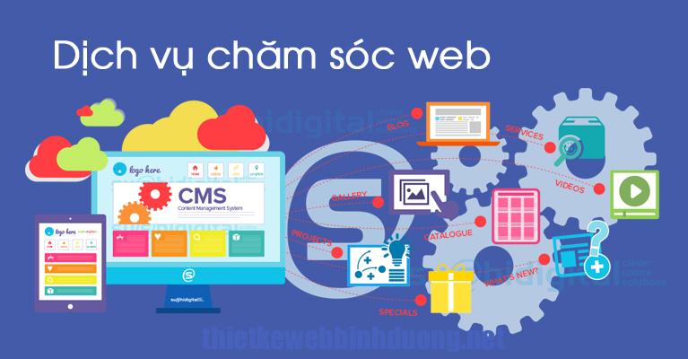 cham soc web tai binh duong