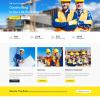 Mẫu web giới thiệu công ty xây dựng PNXD1 4